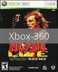 Image of AC/DC Live Rock Band Track Pack original video game for Xbox 360 classic game system. Rocket City Arcade, Huntsville Al. We ship used video games Nationwide