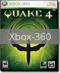 Image of Quake 4 original video game for Xbox 360 classic game system. Rocket City Arcade, Huntsville Al. We ship used video games Nationwide