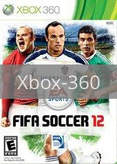 Image of FIFA Soccer 12 original video game for Xbox 360 classic game system. Rocket City Arcade, Huntsville Al. We ship used video games Nationwide