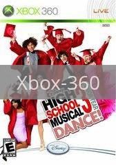 Image of High School Musical 3: Senior Year Dance Bundle original video game for Xbox 360 classic game system. Rocket City Arcade, Huntsville Al. We ship used video games Nationwide