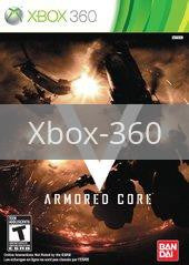 Image of Armored Core V original video game for Xbox 360 classic game system. Rocket City Arcade, Huntsville Al. We ship used video games Nationwide