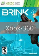 Image of Brink original video game for Xbox 360 classic game system. Rocket City Arcade, Huntsville Al. We ship used video games Nationwide