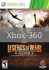Image of History Legends Of War: Patton original video game for Xbox 360 classic game system. Rocket City Arcade, Huntsville Al. We ship used video games Nationwide