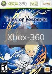 Image of Tales of Vesperia original video game for Xbox 360 classic game system. Rocket City Arcade, Huntsville Al. We ship used video games Nationwide
