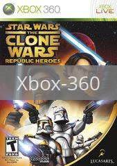 Image of Star Wars Clone Wars: Republic Heroes original video game for Xbox 360 classic game system. Rocket City Arcade, Huntsville Al. We ship used video games Nationwide