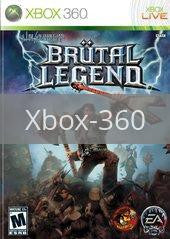 Image of Brutal Legend original video game for Xbox 360 classic game system. Rocket City Arcade, Huntsville Al. We ship used video games Nationwide