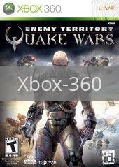 Image of Enemy Territory Quake Wars original video game for Xbox 360 classic game system. Rocket City Arcade, Huntsville Al. We ship used video games Nationwide