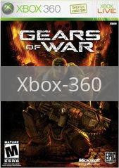 Image of Gears of War original video game for Xbox 360 classic game system. Rocket City Arcade, Huntsville Al. We ship used video games Nationwide