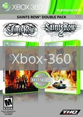 Image of Saints Row Double Pack original video game for Xbox 360 classic game system. Rocket City Arcade, Huntsville Al. We ship used video games Nationwide