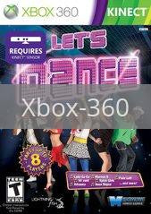 Image of Let's Dance original video game for Xbox 360 classic game system. Rocket City Arcade, Huntsville Al. We ship used video games Nationwide