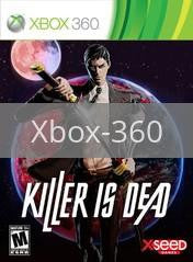 Image of Killer Is Dead original video game for Xbox 360 classic game system. Rocket City Arcade, Huntsville Al. We ship used video games Nationwide