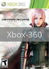 Image of Lightning Returns: Final Fantasy XIII original video game for Xbox 360 classic game system. Rocket City Arcade, Huntsville Al. We ship used video games Nationwide
