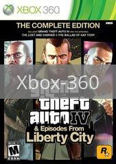Image of Grand Theft Auto IV: Complete Edition original video game for Xbox 360 classic game system. Rocket City Arcade, Huntsville Al. We ship used video games Nationwide