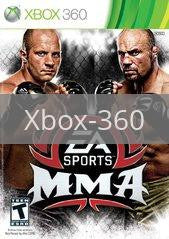 Image of EA Sports MMA original video game for Xbox 360 classic game system. Rocket City Arcade, Huntsville Al. We ship used video games Nationwide