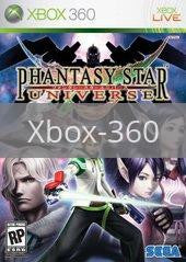Image of Phantasy Star Universe original video game for Xbox 360 classic game system. Rocket City Arcade, Huntsville Al. We ship used video games Nationwide