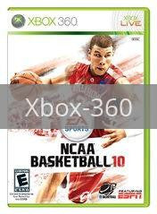 Image of NCAA Basketball 10 original video game for Xbox 360 classic game system. Rocket City Arcade, Huntsville Al. We ship used video games Nationwide