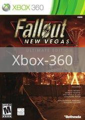 Image of Fallout New Vegas Ultimate Edition original video game for Xbox 360 classic game system. Rocket City Arcade, Huntsville Al. We ship used video games Nationwide