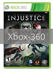 Image of Injustice: Gods Among Us original video game for Xbox 360 classic game system. Rocket City Arcade, Huntsville Al. We ship used video games Nationwide