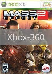 Image of Mass Effect 2 original video game for Xbox 360 classic game system. Rocket City Arcade, Huntsville Al. We ship used video games Nationwide