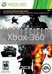 Image of Battlefield: Bad Company 2 Ultimate Edition original video game for Xbox 360 classic game system. Rocket City Arcade, Huntsville Al. We ship used video games Nationwide
