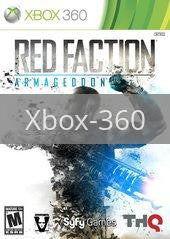 Image of Red Faction: Armageddon original video game for Xbox 360 classic game system. Rocket City Arcade, Huntsville Al. We ship used video games Nationwide