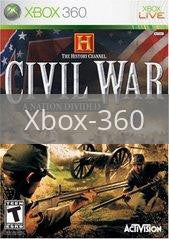Image of History Channel Civil War A Nation Divided original video game for Xbox 360 classic game system. Rocket City Arcade, Huntsville Al. We ship used video games Nationwide