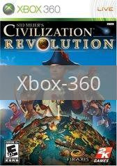Image of Civilization Revolution original video game for Xbox 360 classic game system. Rocket City Arcade, Huntsville Al. We ship used video games Nationwide