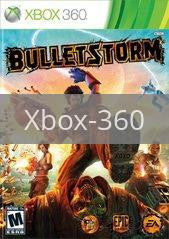 Image of Bulletstorm original video game for Xbox 360 classic game system. Rocket City Arcade, Huntsville Al. We ship used video games Nationwide