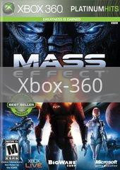 Image of Mass Effect original video game for Xbox 360 classic game system. Rocket City Arcade, Huntsville Al. We ship used video games Nationwide