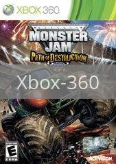 Image of Monster Jam: Path of Destruction original video game for Xbox 360 classic game system. Rocket City Arcade, Huntsville Al. We ship used video games Nationwide