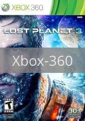 Image of Lost Planet 3 original video game for Xbox 360 classic game system. Rocket City Arcade, Huntsville Al. We ship used video games Nationwide