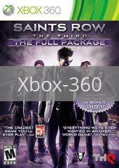 Image of Saints Row The Third: The Full Package original video game for Xbox 360 classic game system. Rocket City Arcade, Huntsville Al. We ship used video games Nationwide