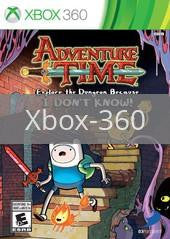 Image of Adventure Time: Explore the Dungeon Because I Don't Know original video game for Xbox 360 classic game system. Rocket City Arcade, Huntsville Al. We ship used video games Nationwide