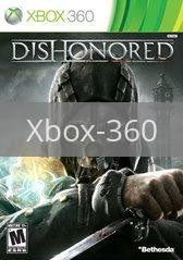 Image of Dishonored original video game for Xbox 360 classic game system. Rocket City Arcade, Huntsville Al. We ship used video games Nationwide