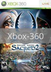 Image of Sacred 2: Fallen Angel original video game for Xbox 360 classic game system. Rocket City Arcade, Huntsville Al. We ship used video games Nationwide
