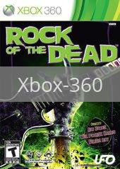 Image of Rock of the Dead original video game for Xbox 360 classic game system. Rocket City Arcade, Huntsville Al. We ship used video games Nationwide