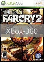Image of Far Cry 2 original video game for Xbox 360 classic game system. Rocket City Arcade, Huntsville Al. We ship used video games Nationwide
