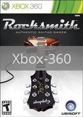 Image of Rocksmith original video game for Xbox 360 classic game system. Rocket City Arcade, Huntsville Al. We ship used video games Nationwide