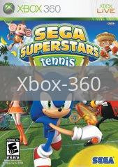 Image of Sega Superstars Tennis original video game for Xbox 360 classic game system. Rocket City Arcade, Huntsville Al. We ship used video games Nationwide