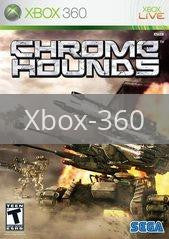 Image of Chromehounds original video game for Xbox 360 classic game system. Rocket City Arcade, Huntsville Al. We ship used video games Nationwide