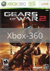 Image of Gears of War 2 original video game for Xbox 360 classic game system. Rocket City Arcade, Huntsville Al. We ship used video games Nationwide