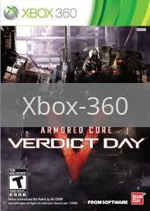 Image of Armored Core: Verdict Day original video game for Xbox 360 classic game system. Rocket City Arcade, Huntsville Al. We ship used video games Nationwide