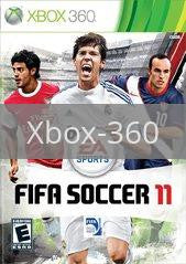 Image of FIFA Soccer 11 original video game for Xbox 360 classic game system. Rocket City Arcade, Huntsville Al. We ship used video games Nationwide
