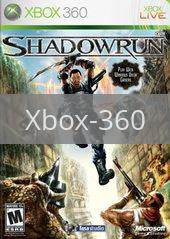 Image of Shadowrun original video game for Xbox 360 classic game system. Rocket City Arcade, Huntsville Al. We ship used video games Nationwide
