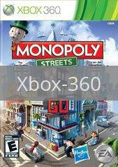 Image of Monopoly Streets original video game for Xbox 360 classic game system. Rocket City Arcade, Huntsville Al. We ship used video games Nationwide