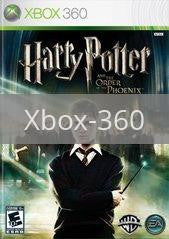 Image of Harry Potter and the Order of the Phoenix original video game for Xbox 360 classic game system. Rocket City Arcade, Huntsville Al. We ship used video games Nationwide