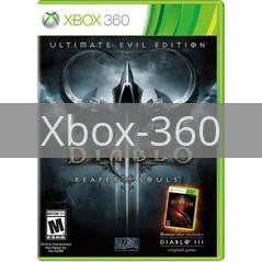 Image of Diablo III Ultimate Evil Edition original video game for Xbox 360 classic game system. Rocket City Arcade, Huntsville Al. We ship used video games Nationwide