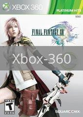Image of Final Fantasy XIII original video game for Xbox 360 classic game system. Rocket City Arcade, Huntsville Al. We ship used video games Nationwide