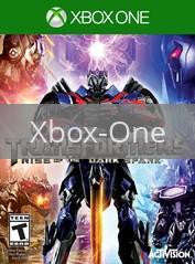 Image of Transformers: Rise of the Dark Spark original video game for Xbox One classic game system. Rocket City Arcade, Huntsville Al. We ship used video games Nationwide