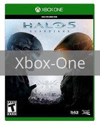 Image of Halo 5 Guardians original video game for Xbox One classic game system. Rocket City Arcade, Huntsville Al. We ship used video games Nationwide